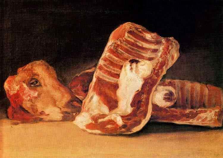 Francisco José de Goya Y Lucientes Goya - Costela de cordeiro