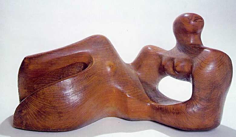 Henry Moore - Figura reclinando