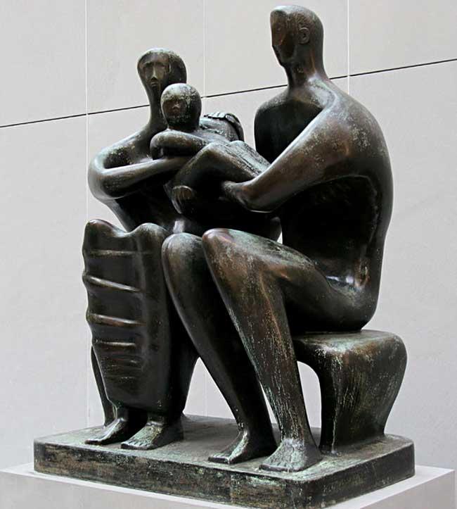 Henry Moore - Grupo de família