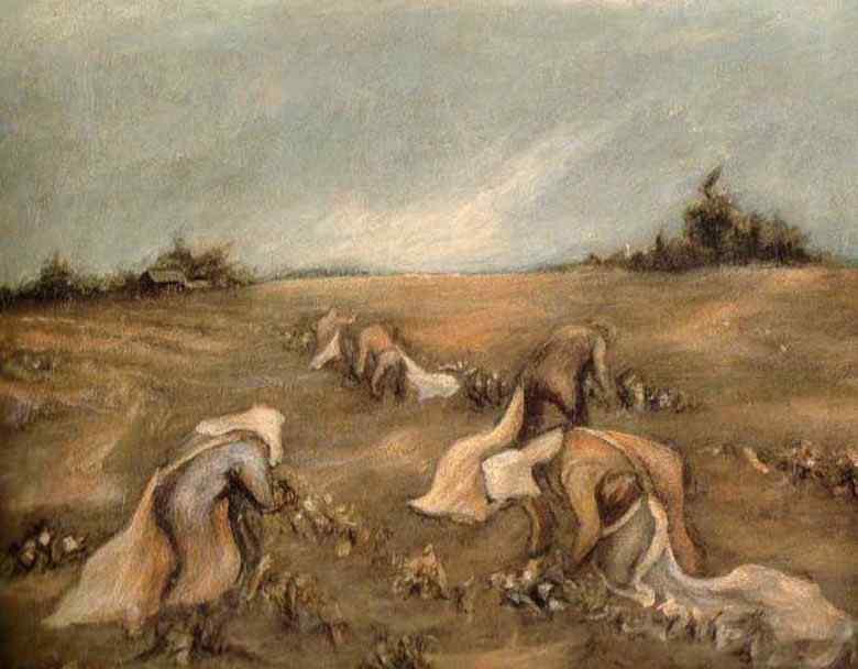 Jackson Pollock - Colhedores de algodão
