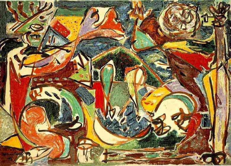 Jackson Pollock - A chave
