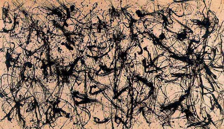 Jackson Pollock - Número 38