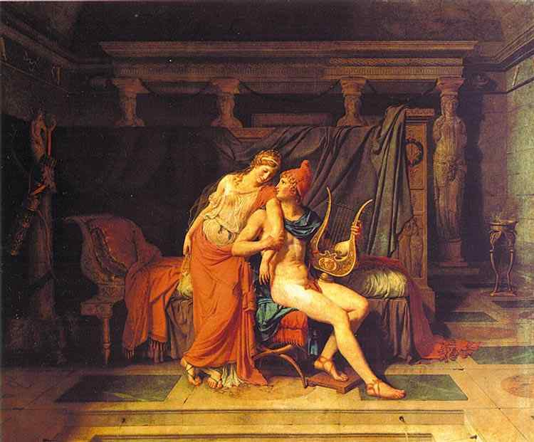 Jacques-Louis David - Páris e Helena