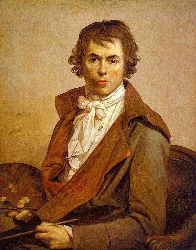 Jacques-Louis David - Auto-retrato