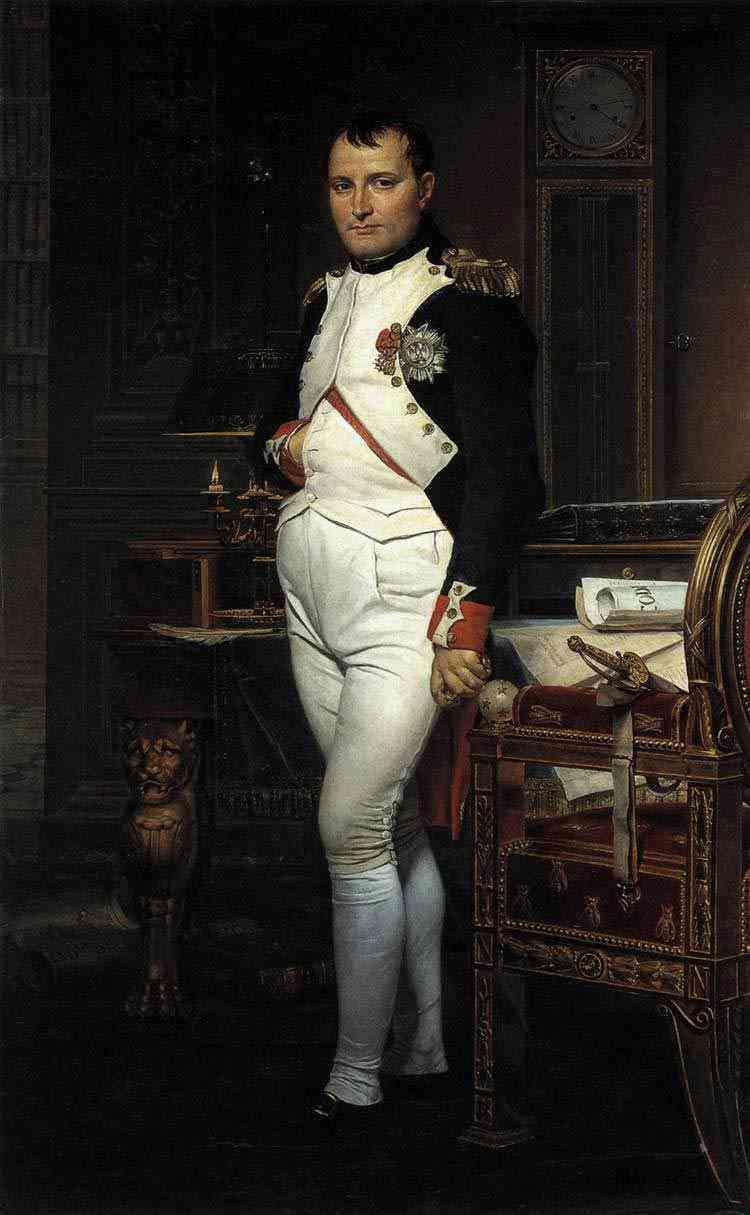 Jacques-Louis David - Napoleão em seu escritório