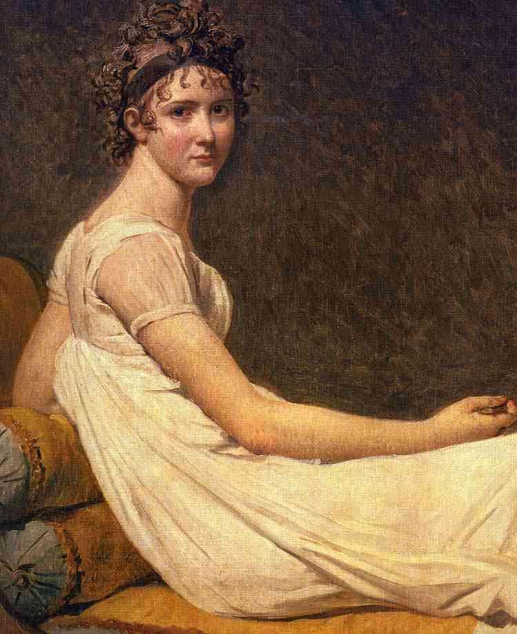 Jacques-Louis David - Madame Recamier