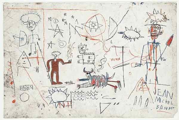 Jean-Michel Basquiat - Sem título