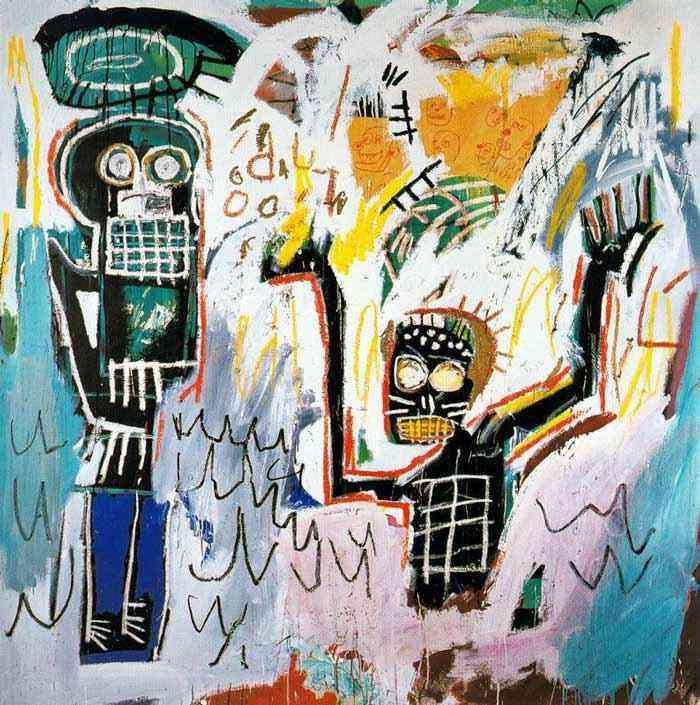 Jean-Michel Basquiat - Batismo