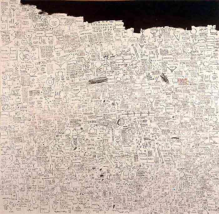 Jean-Michel Basquiat - Pegasus