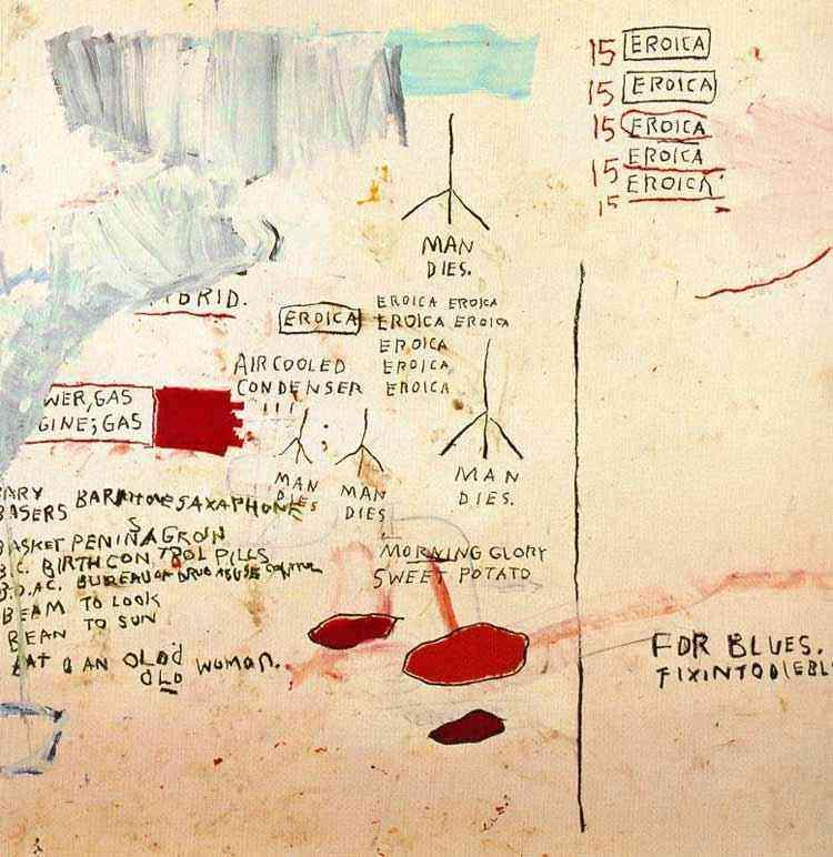 Jean-Michel Basquiat - Erótica I