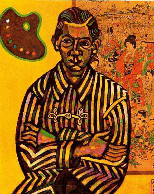 Joan Miró - Retrato de E. C. Ricart