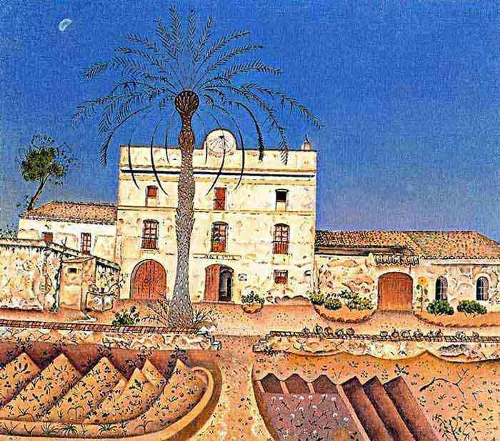Joan Miró - Casa com palmeira