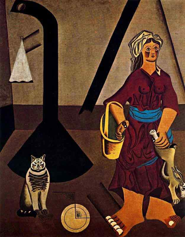 Joan Miró - A esposa do granjeiro