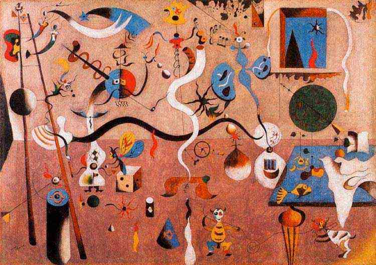 Joan Miró - Carnaval do Arlequim