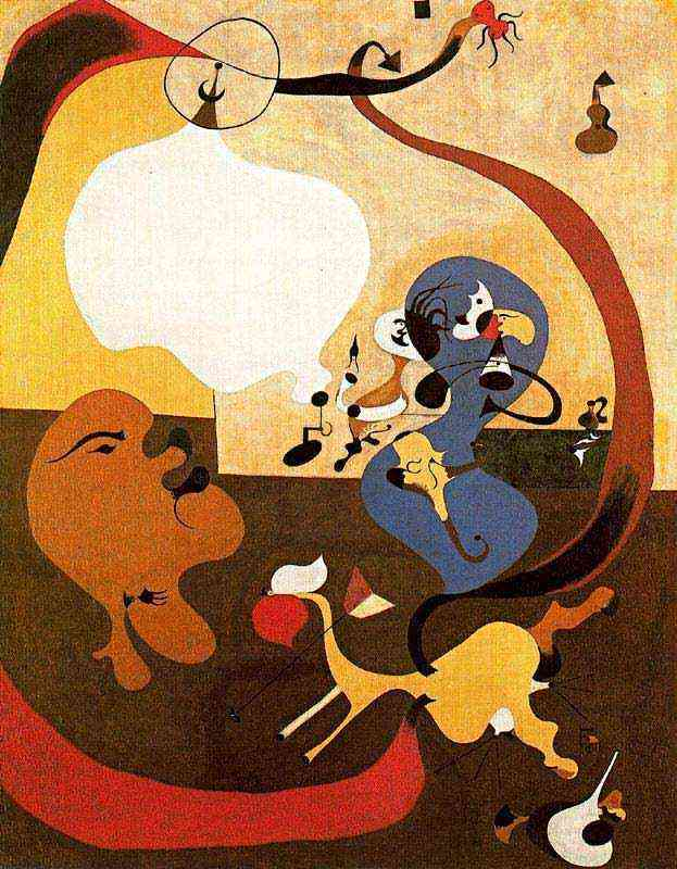 Joan Miró - Interior holandês II
