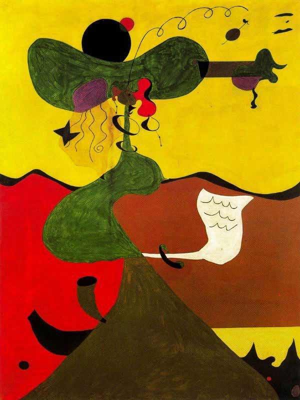 Joan Miró - Retrato de Mrs. Mills