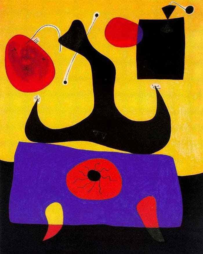 Joan Miró - Mulher sentada