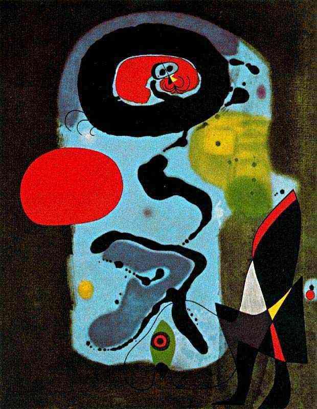 Joan Miró - O sol vermelho