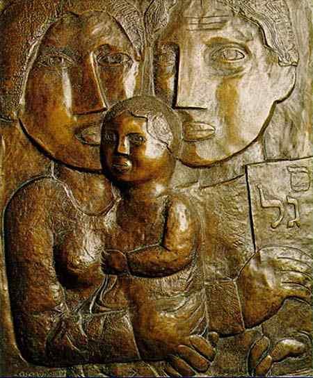 Lasar Segall - Família (escultura)