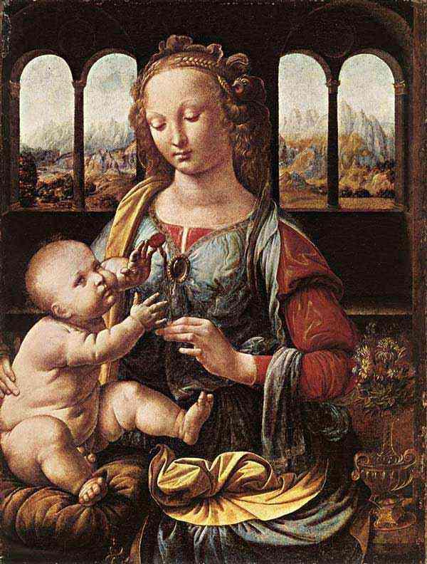 Leonardo da Vinci - A Virgem da Encarnação