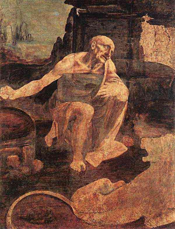 Leonardo da Vinci - São Jerônimo