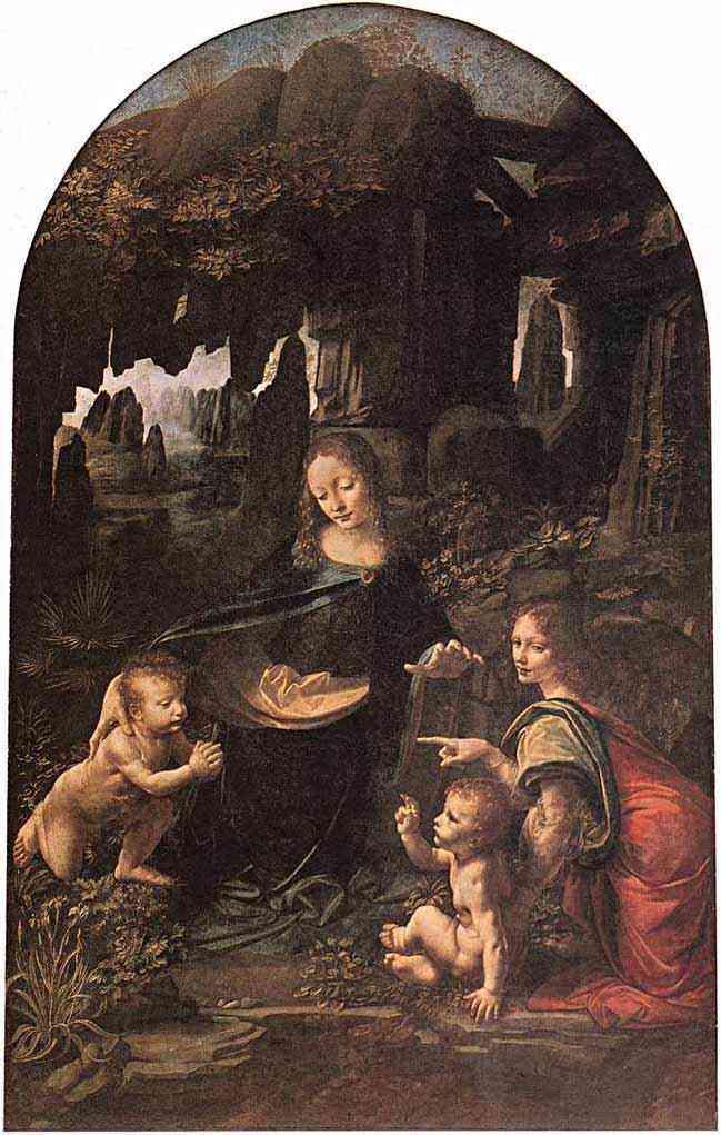 Leonardo da Vinci - Virgem das Rochas