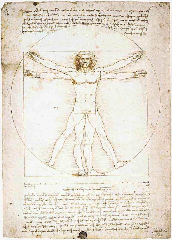 Leonardo da Vinci - Homo Vituvianus