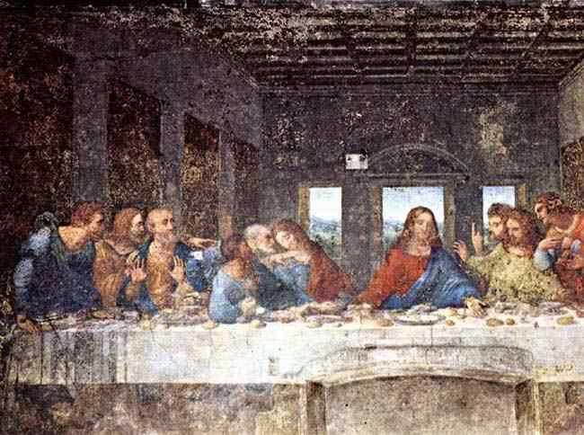 Leonardo da Vinci - A Santa Ceia