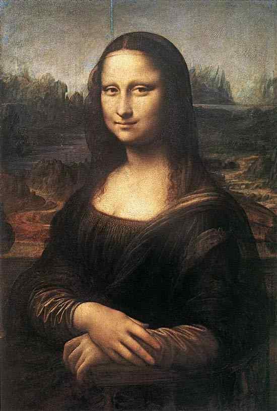 "Leonardo da Vinci - Mona Lisa (conhecido também como ""La Gioconda"")"