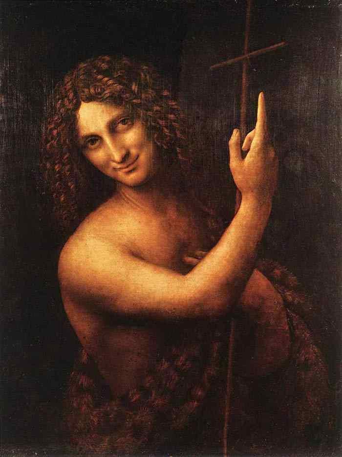 Leonardo da Vinci - São João, o Batista
