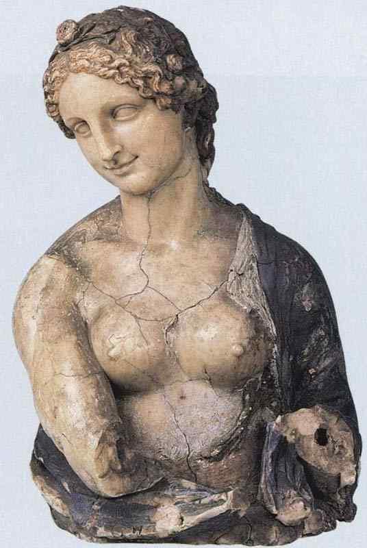 Leonardo da Vinci - Busto de Flora (escultura)