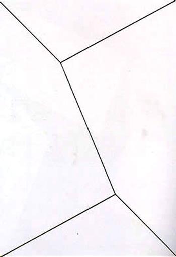 Lygia Clark - Plano em superfície modulada nº 1