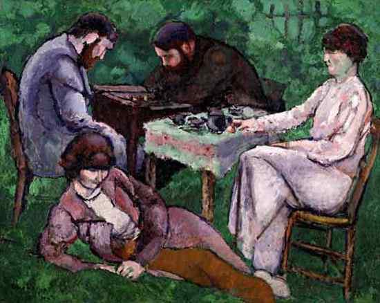 Marcel Duchamp - A partida de xadrez