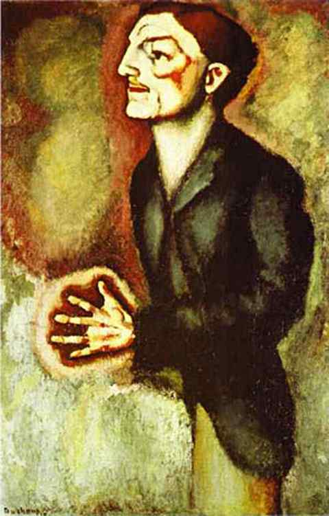 Marcel Duchamp - Retrato do Dr. R. Dumouchel