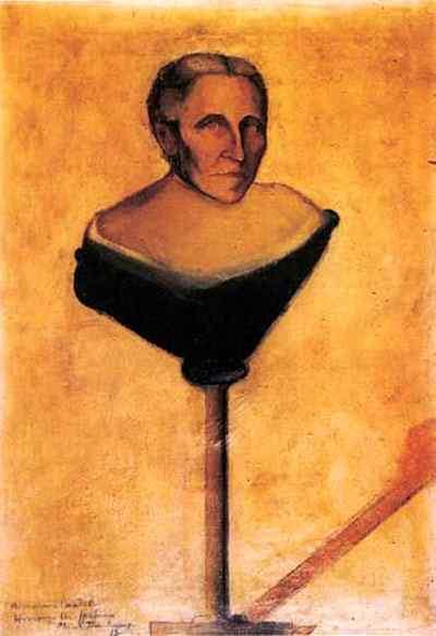Marcel Duchamp - Retrato da mãe da Gustave Candel