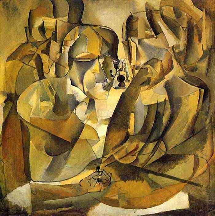 Marcel Duchamp - Retrato do jogador de xadrez