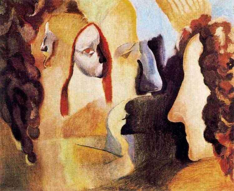 Marcel Duchamp - Yvonne e Magdeleine recortadas
