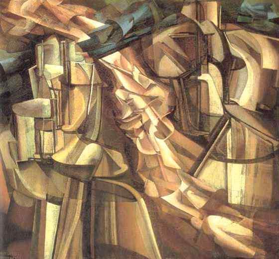 Marcel Duchamp - Rei e rainha cercados
