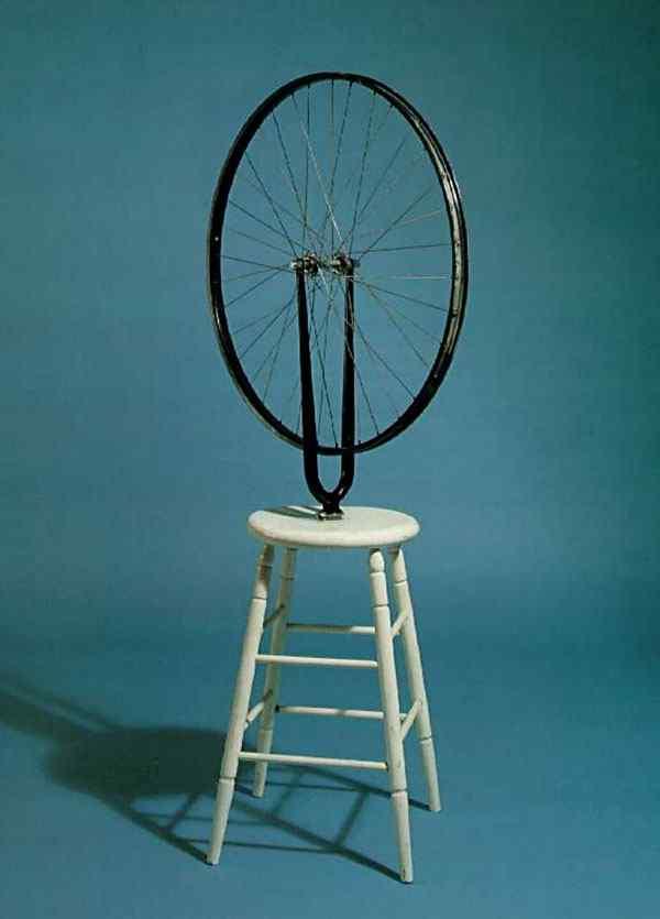 Marcel Duchamp - Roda de bicicleta (réplica, original se perdeu)