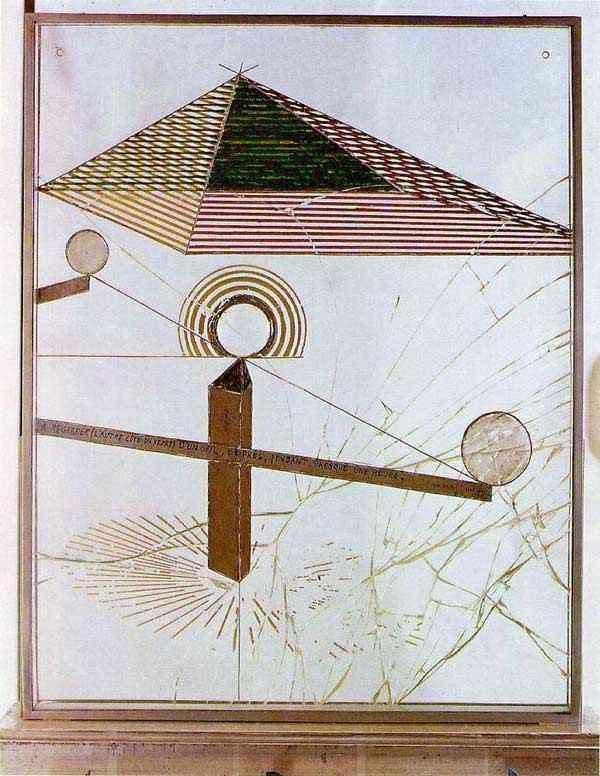 Marcel Duchamp - Para ser olhado (do outro lado do vidro) com um olho, perto, por quase uma hora