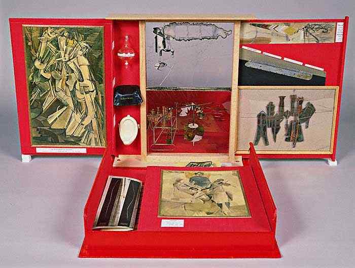 Marcel Duchamp - Caixa em uma valise