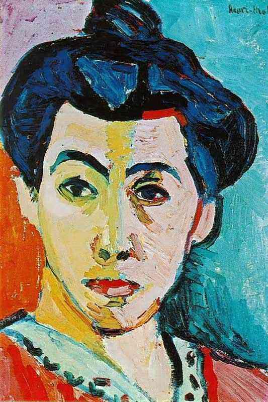 Henri Matisse - Madame Matisse (Linha verde)