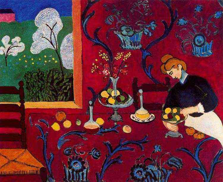 Henri Matisse - Harmonia em vermelho