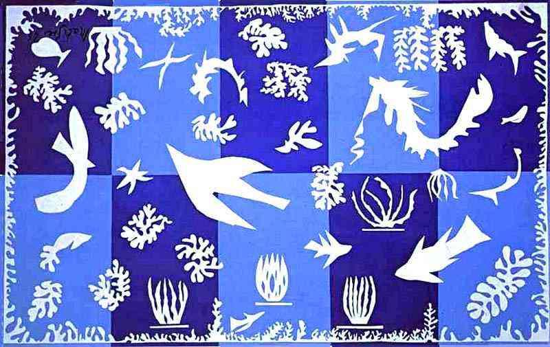 Henri Matisse - O mar da Polinésia