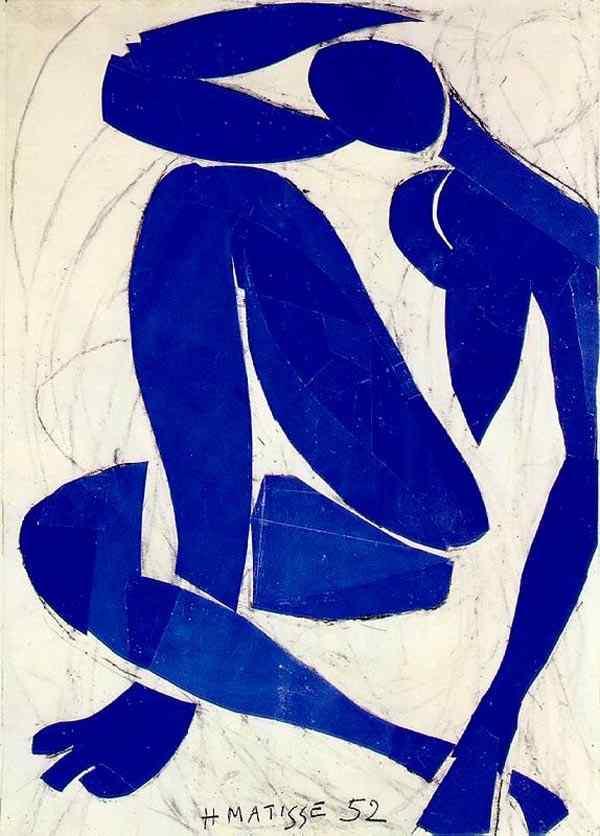 Henri Matisse - Nu azul IV