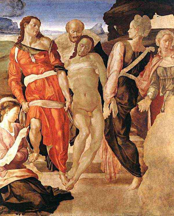 Michelangelo di Ludovico Buonarroti Simoni - Sepultamento