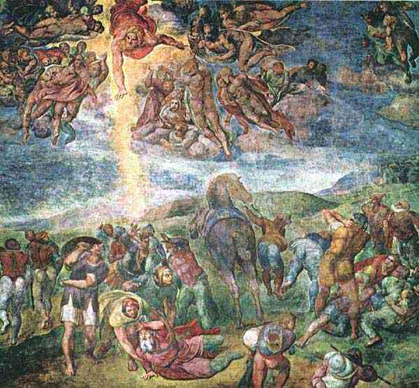 Michelangelo di Ludovico Buonarroti Simoni - A conversão de Saulo