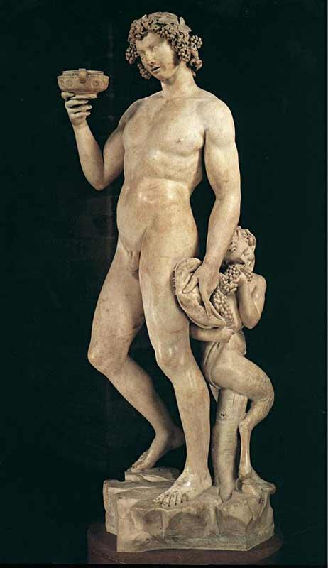 Michelangelo di Ludovico Buonarroti Simoni - Baco (escultura)