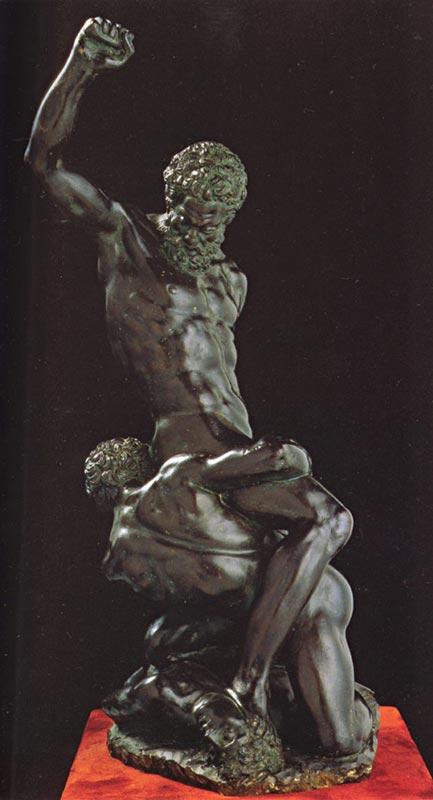 Michelangelo di Ludovico Buonarroti Simoni - Sansão e os dois filisteus (escultura)