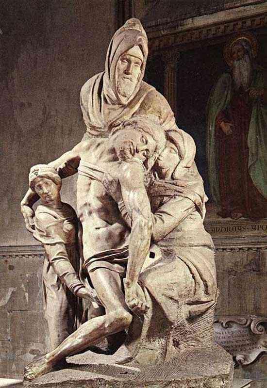Michelangelo di Ludovico Buonarroti Simoni - Pietà (escultura)